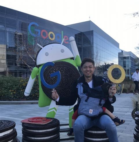 シリコンバレーで、Google本社に来ています